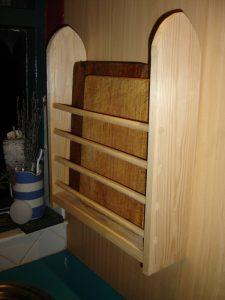 Board & tray rack