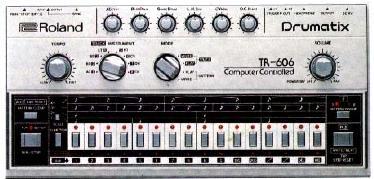 """Roland TR606 """"Drumatix"""""""