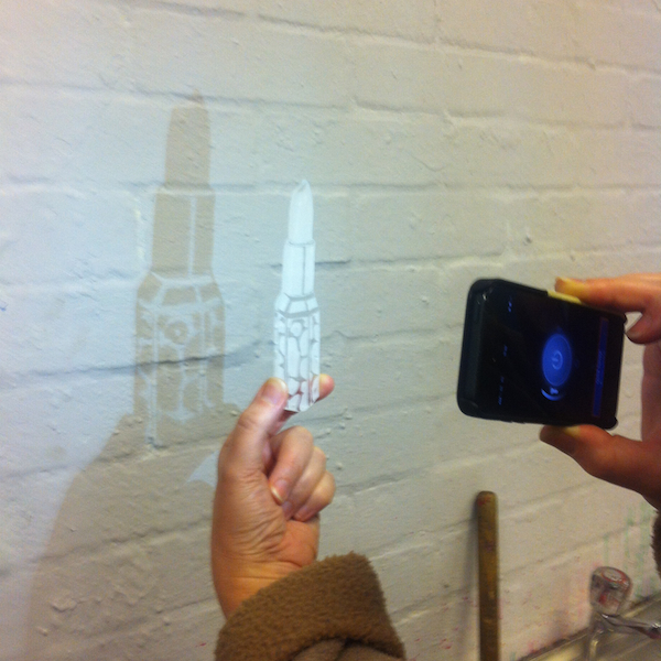 Playing with perspex shadow
