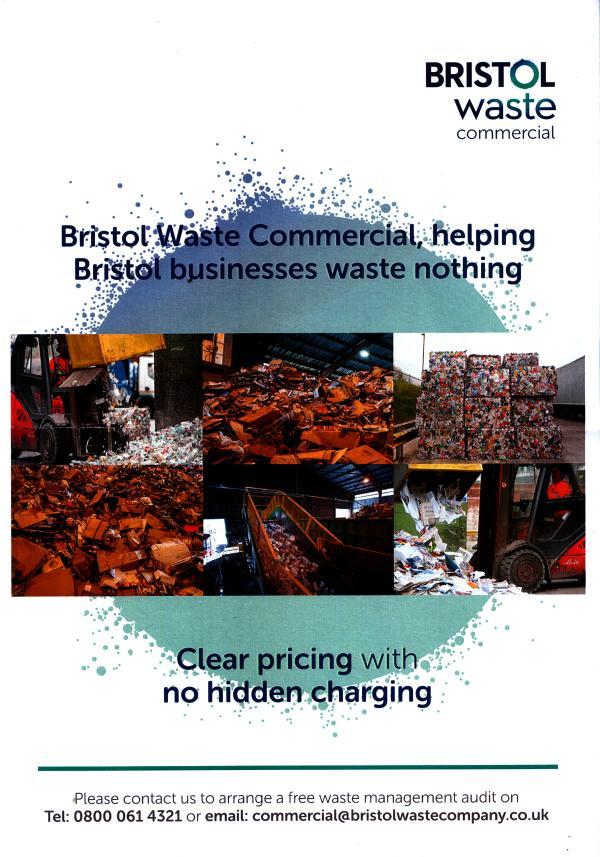 Bristol Waste trade flyer