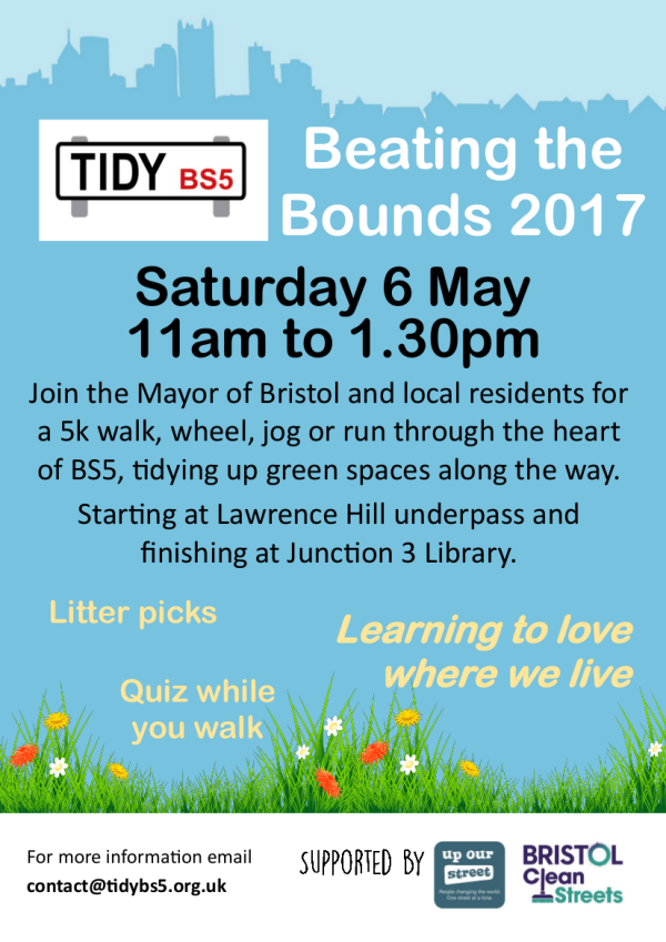 Beating the Bounds publicity poster