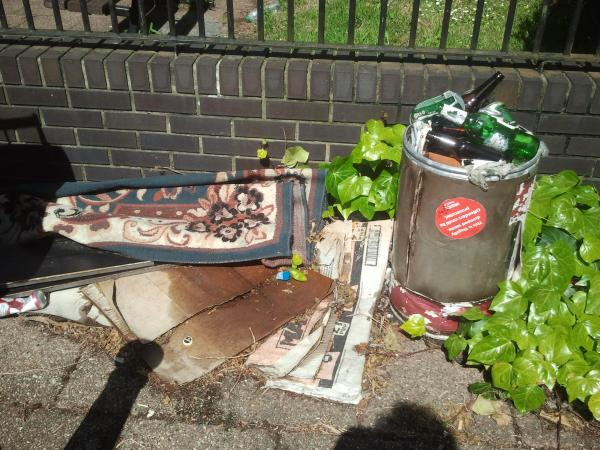 6 month old fly-tipping in Easton