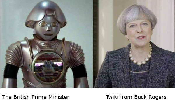 Theresa May and Twiki
