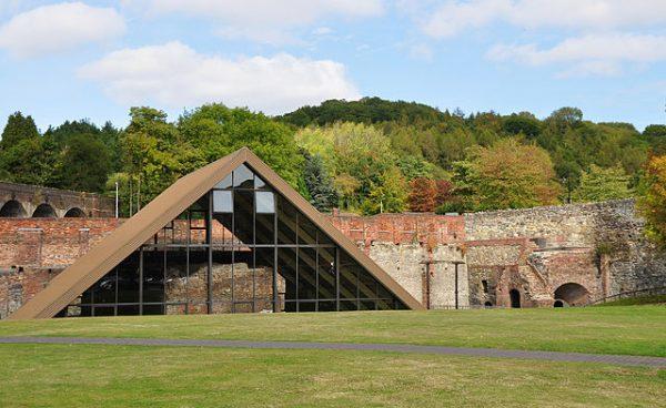 Darby's blast furnace in Coalbrookdale