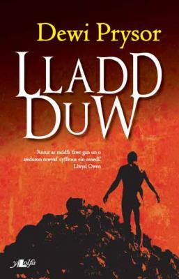 Cover of Llad Duw novel by Dewi Prysor