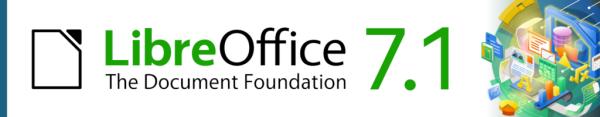 LibreOffice 7.1 banner