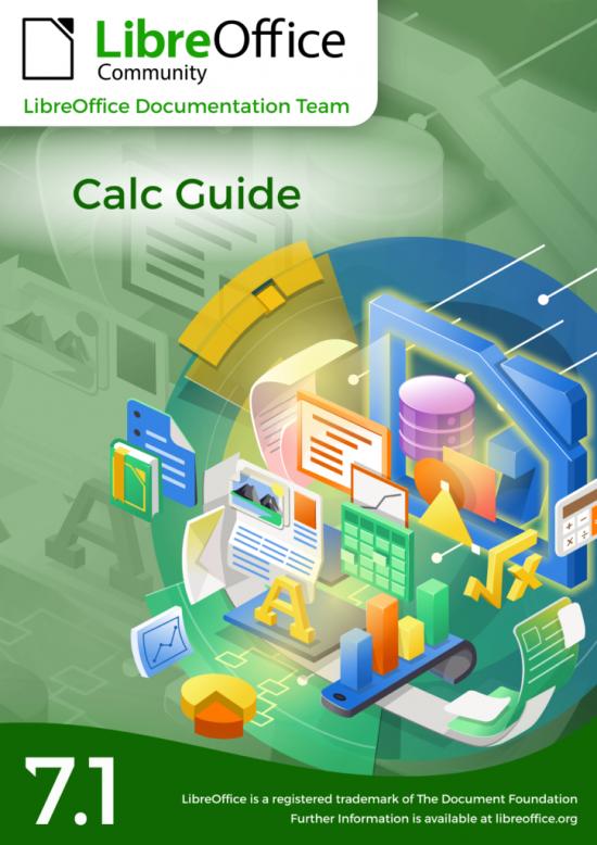 Cover of lastest Calc guide