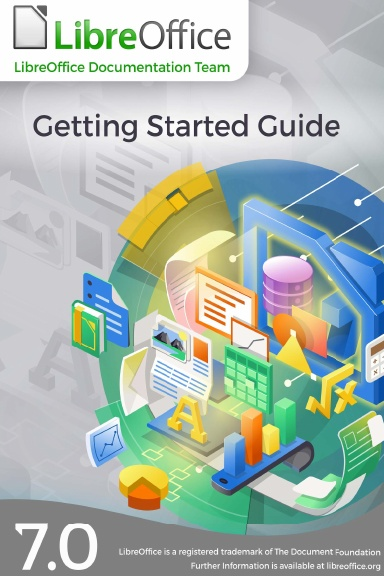 Cover image of LibreOffice Getting Started Guide