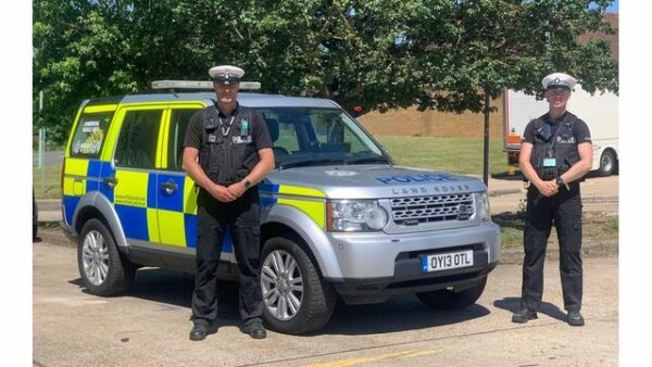 Suffolk Constabulary's Commercial Vehicles Unit